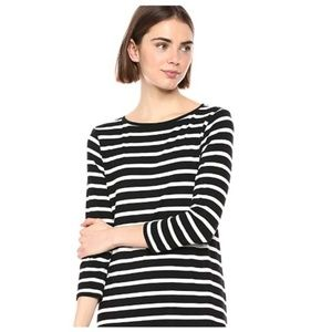 Women's 3/4 Sleeve Boatneck Dress